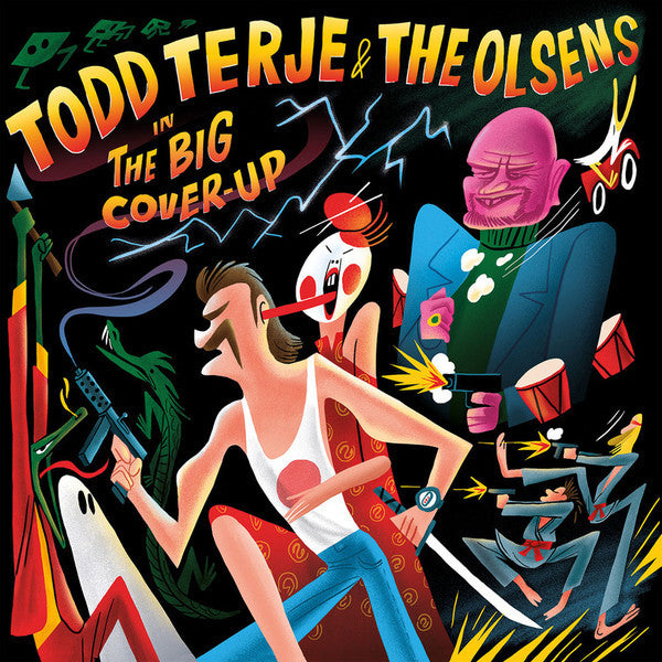 Todd Terje & The Olsens ‎– The Big Cover-Up - New Vinyl Record 2 Lp Set 2016 (Europe Import Limited Edition) - Disco/Soul/House