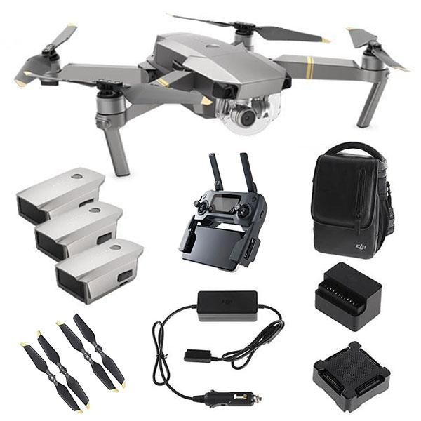 DJI™ Mavic Pro Platinum Fly More Combo