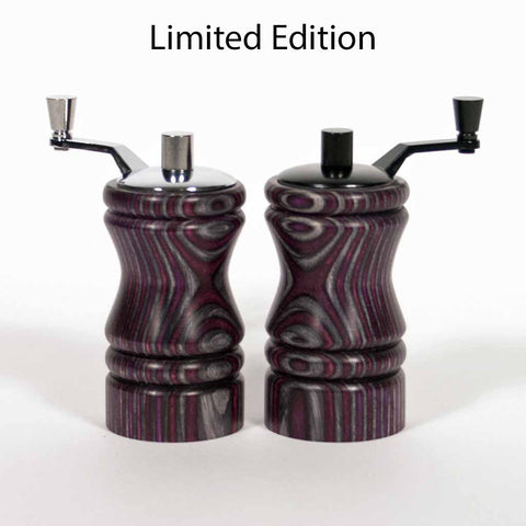Limited Edition Set of Dark Knight Ferris mini-grinders - Dailey Woodworking