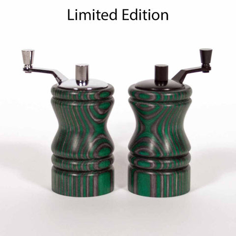 Set of Limited Edition Evergreen Ferris Mini-Grinders - Dailey Woodworking