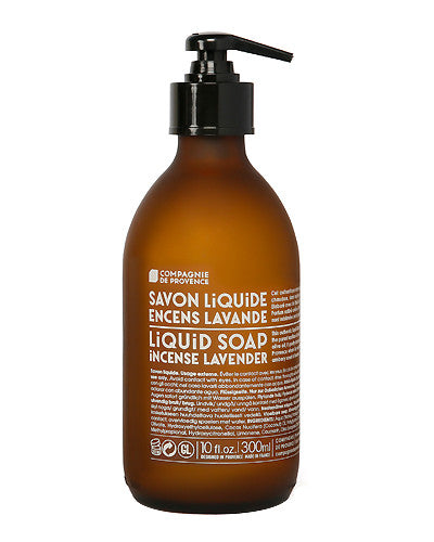 Liquid Marseille Soap 10 oz - Incense Lavender