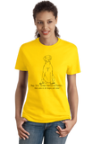 Ladies Yellow Boys, Girls, & German Shorthaired Pointers - German Pointers T-shirt
