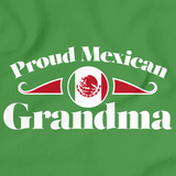 Proud Mexican Grandma | Mexico Pride Green Art Preview