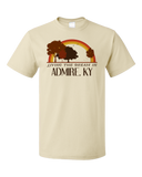 Standard Natural Living the Dream in Admire, KY | Retro Unisex  T-shirt