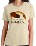 Ladies Natural Living the Dream in Langley, SC | Retro Unisex  T-shirt