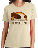 Ladies Natural Living the Dream in Newport, NH | Retro Unisex  T-shirt