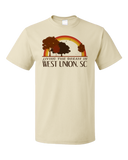 Standard Natural Living the Dream in West Union, SC | Retro Unisex  T-shirt