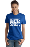 Ladies Royal Denver Sports - Generic Funny Sports Fan T-shirt