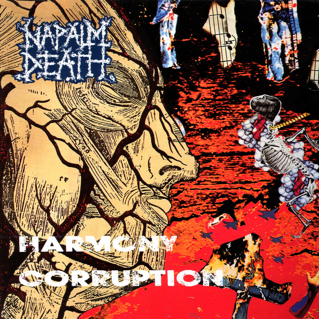 Napalm Death ‎– Harmony Corruption LP