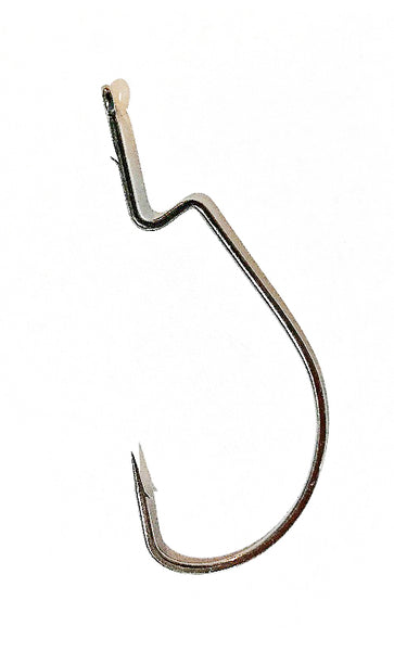 VMC wide gap XL worm hooks with extra long shank (6 pack)
