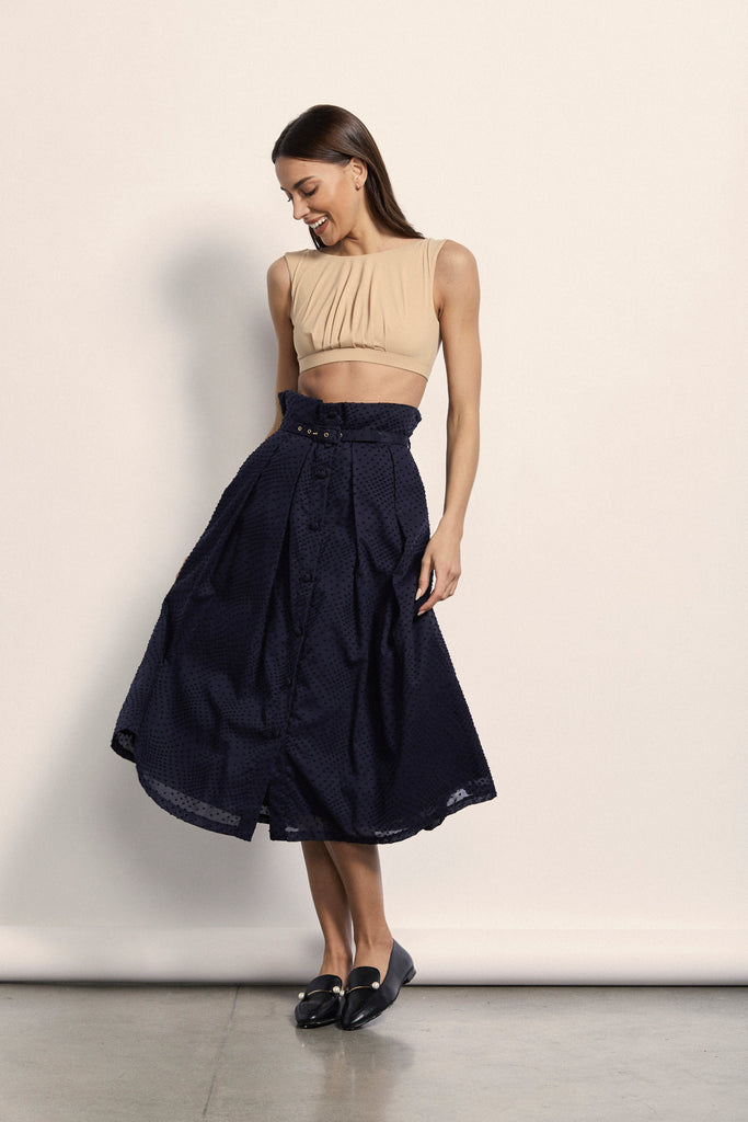 Cécile Skirt - Navy