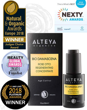 Regenerating Concentrate Rose Otto Alteya Organics Awards
