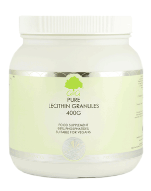 Pure Lecithin Granules - Natural Phospholipids (400g) - G&G Vitamins-for the Ageless