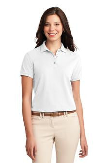 Port Authority® Ladies Silk Touch™ Polo. L500 with Maeser Logo (CLEARANCE)