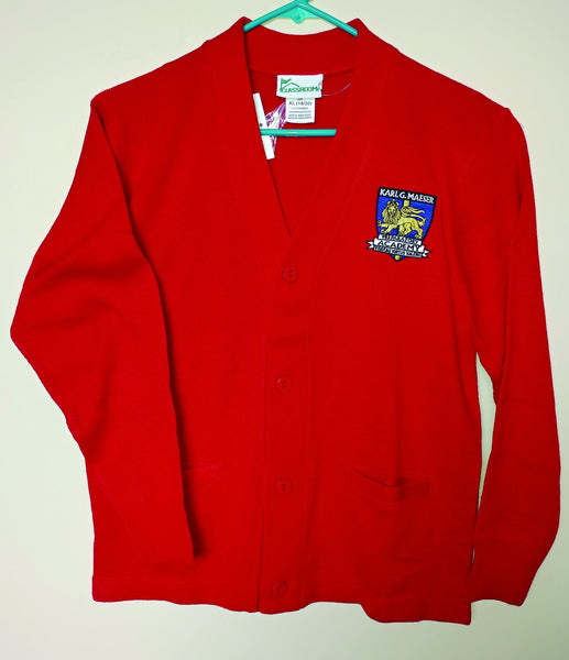 Maeser Middle-School Cardigan (Unisex) (CLEARANCE)