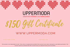 $150 E-Gift Voucher Gift Card Uppermoda