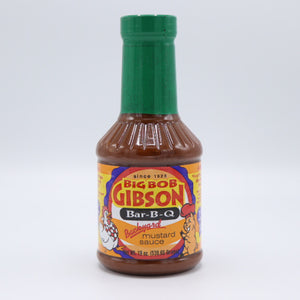 Big Bob Gibson's Backyard Mustard Sauce