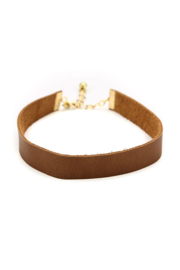 Adeline Choker - Brown