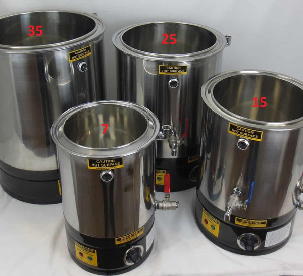 Wax Melter & Cappings Reducer & Honey Decandy Digital 15L