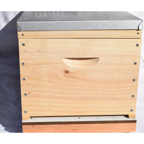 BeeHive Complete made inc wired & wax frames