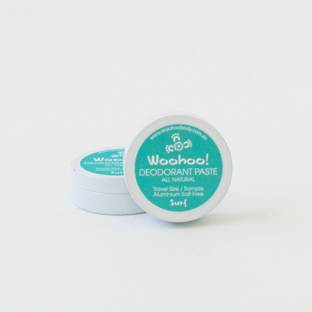 NEW SCENT! - SAMPLE - Woohoo! All Natural Deodorant Paste (Surf)