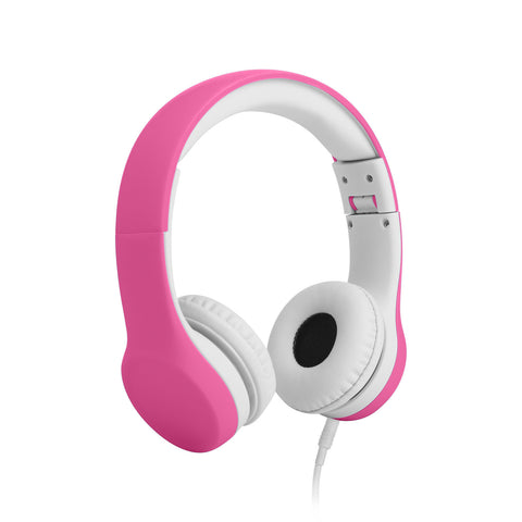 Connect+ Children's Wired Headphones - Pink