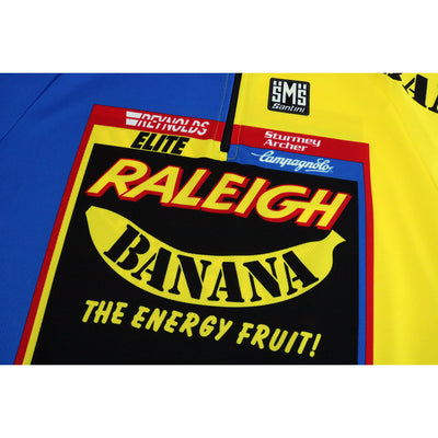 The Raleigh Banana Jersey Has Been Faithfully Reproduced by Santini