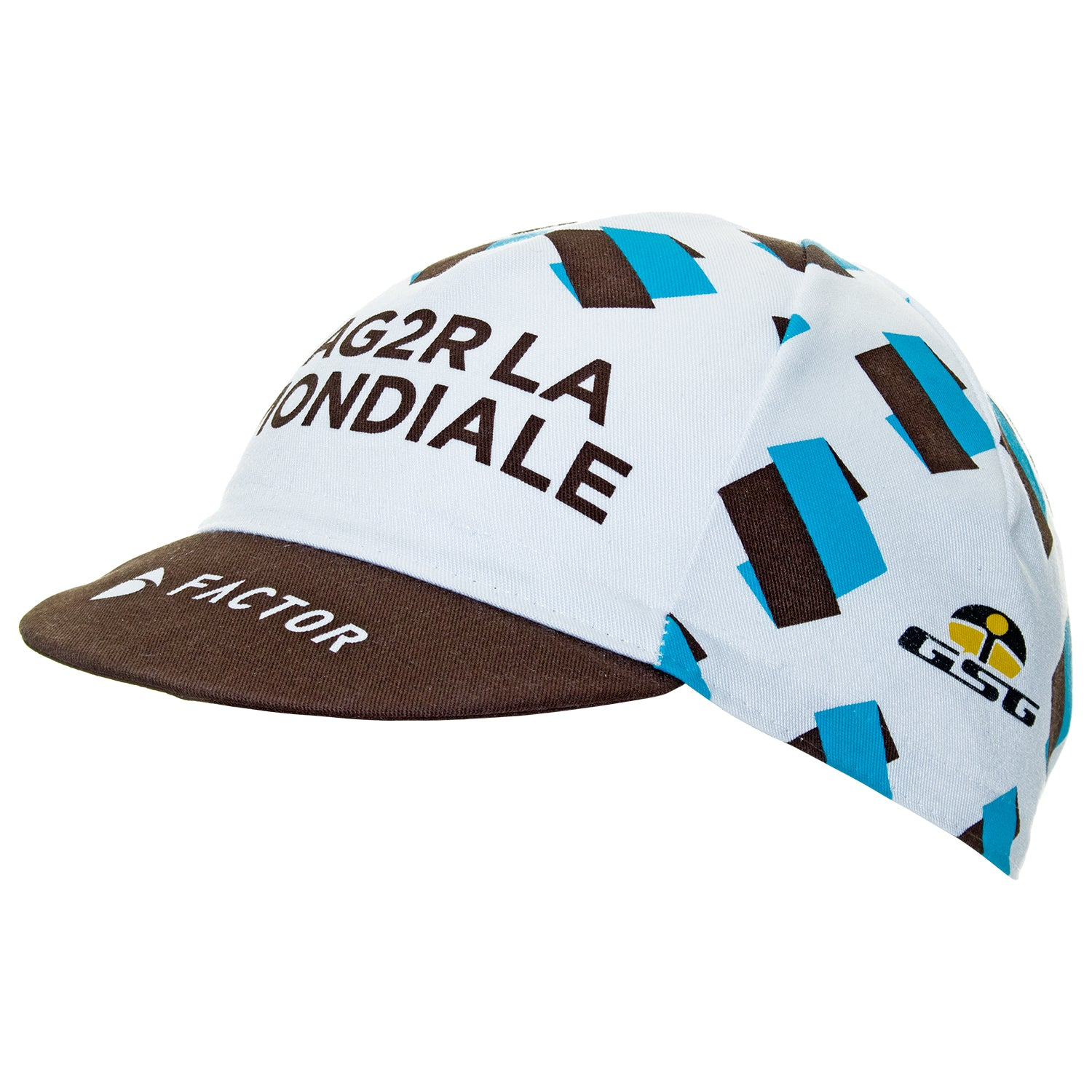 Ag2R La Mondiale / Factor / Giessegi 2017 Cotton Cycling Cap