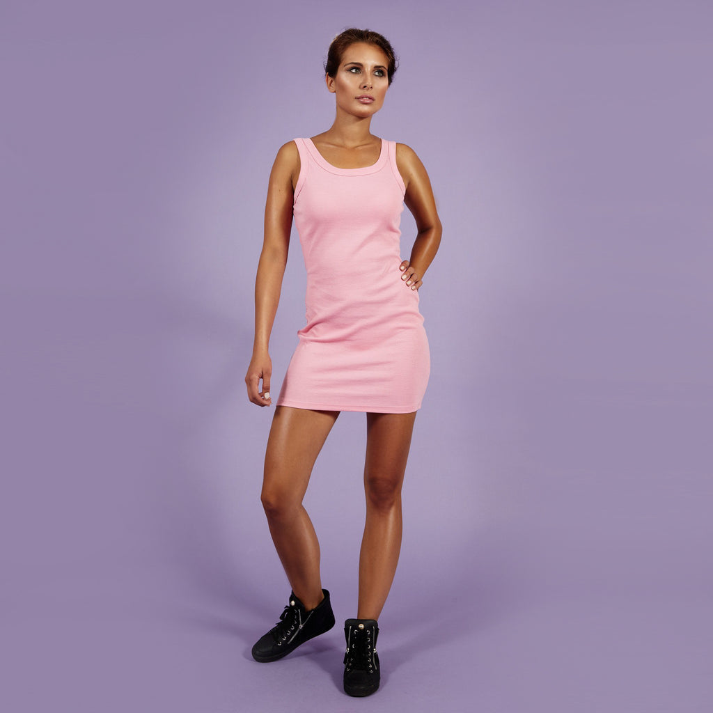 'Roxanne' Dress Ripp Rose