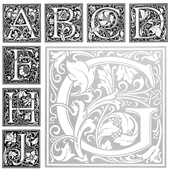 Goudy Cloister Initials - Inspiration and Application
