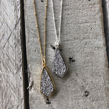 Load image into Gallery viewer, Druzy Jewelry | Diamond Necklace