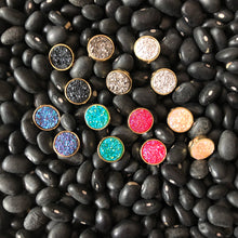Load image into Gallery viewer, Druzy Jewelry | Itsy Round Studs