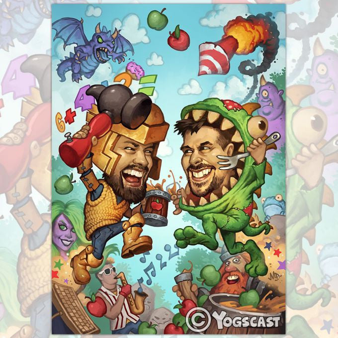 Yogscast: Deckrippers (Deckrippers) Limited Edition Poster