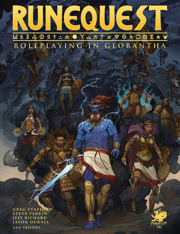 RuneQuest: Roleplaying in Glorantha - Hardcover + complimentary PDF (restock)