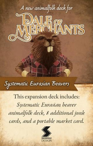 Dale of Merchants: Systematic Eurasian Beavers - Leisure Games