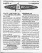 Prime Directive: Starship Aldo - reduced price*