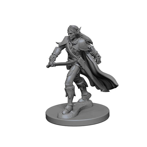 WZK72598 Elf Male Fighter (2 minis) - Pathfinder Deep Cuts