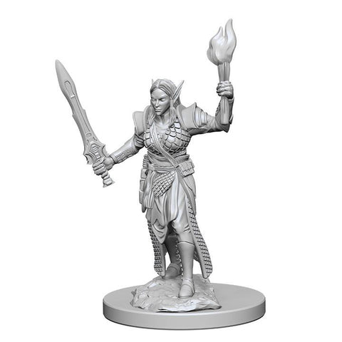 WZK72599 Elf Female Fighter (2 minis) - Pathfinder Deep Cuts