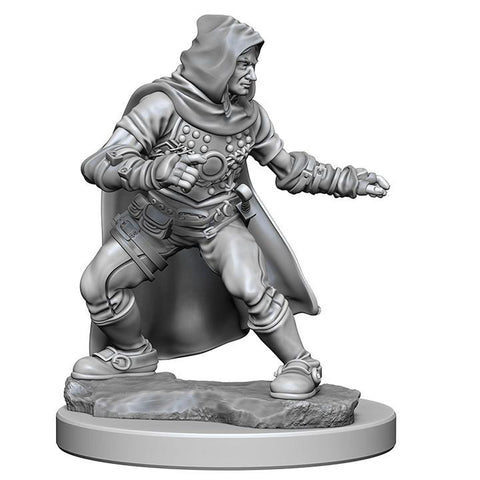 WZK72602 Human Male Rogue (2 minis) - Pathfinder Deep Cuts