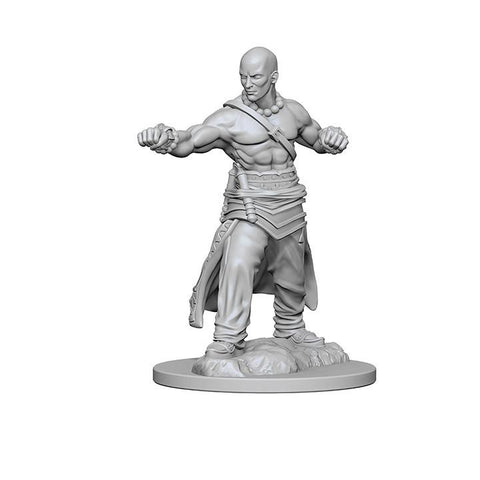 WZK72612 Human Male Monk (2 minis) - Pathfinder Deep Cuts