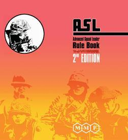 Advanced Squad Leader Rulebook 2nd Edition - Leisure Games