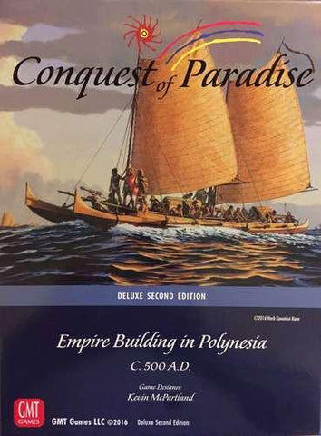 Conquest of Paradise 2nd Edition - Leisure Games