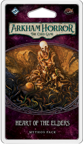 Arkham Horror: The Card Game – Heart of the Elders: Mythos Pack - Leisure Games