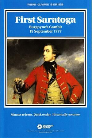 Mini Game Series: First Saratoga - Burgoyne's Gambit