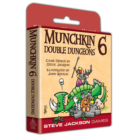 Munchkin 6: Double Dungeons (expected in stock on 16th July)