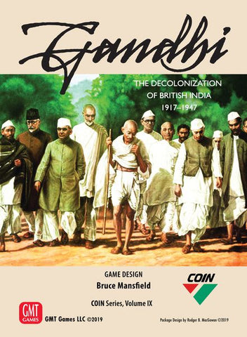 Gandhi: The Decolonization of British India COIN Series Volume IX (expected in stock on 16th July)