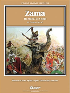 Folio Series: Zama - Hannibal vs Scipio