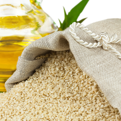 Sesame seed oil (raw) Botanical name: Sesamum indicum