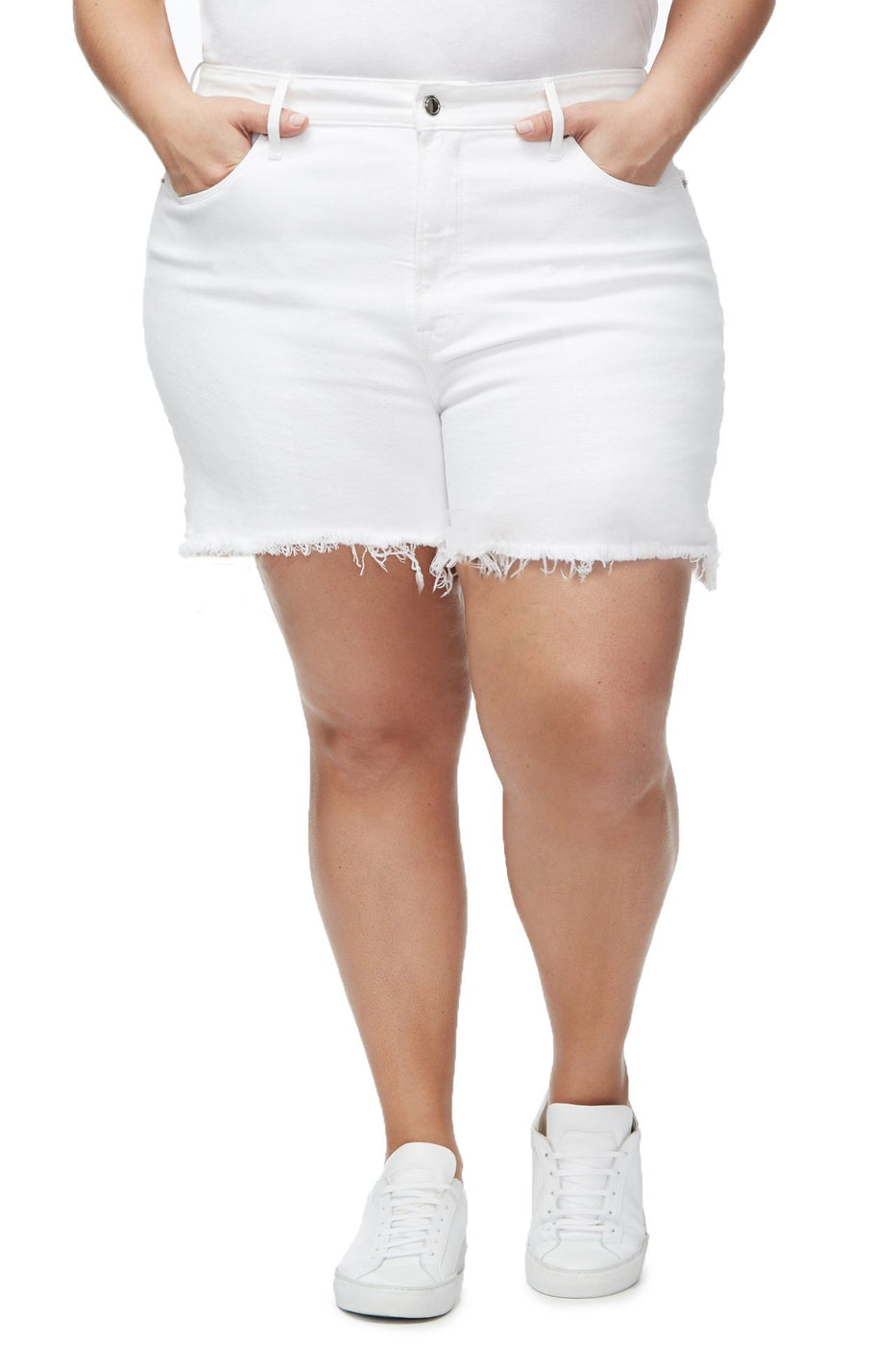 THE BOMBSHELL SHORT | WHITE001
