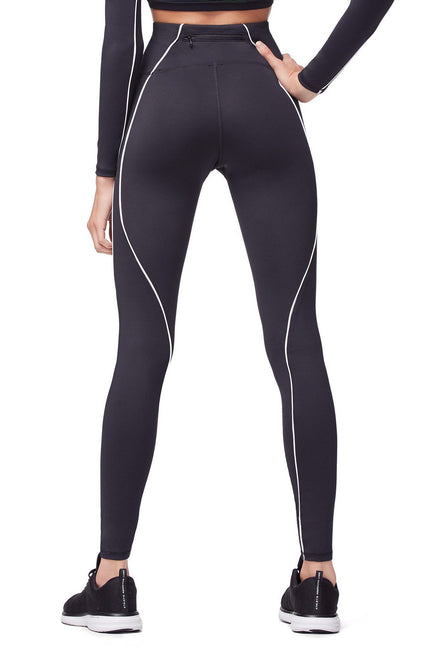 Good American High Waisted Electric Feel Legging Black001